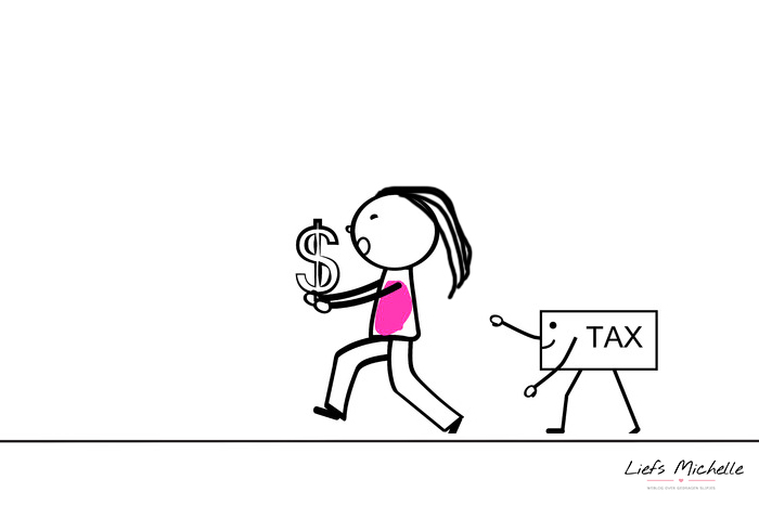 Gedragen slipjes en belasting, hoe zit dat?